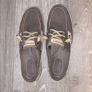 Sperry Top-Sider Grey (mint condition)